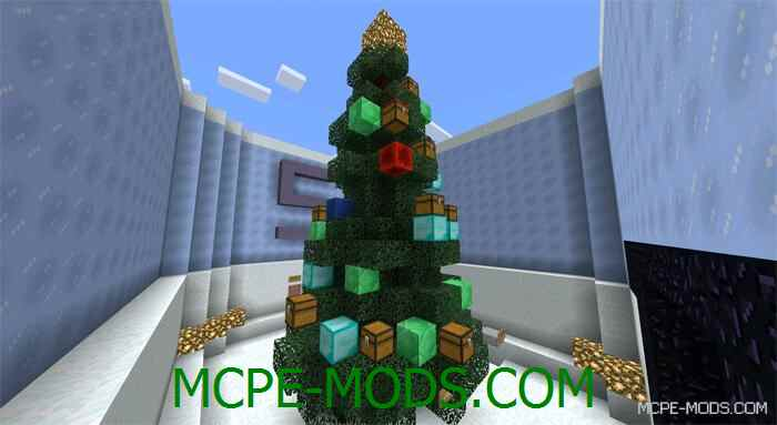 Карта головоломка MindDud - дух Рождества для Майнкрафт ПЕ 0.13.1