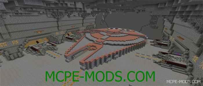 Эпичная карта Star Wars Battle для Minecraft PE 0.14.0
