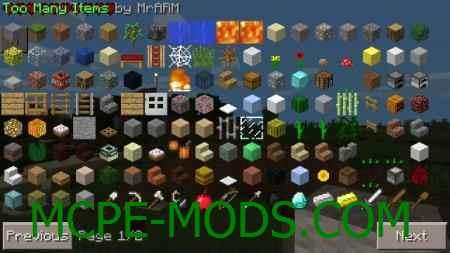 Too Many Items Mod 0.9.5/0.9.0