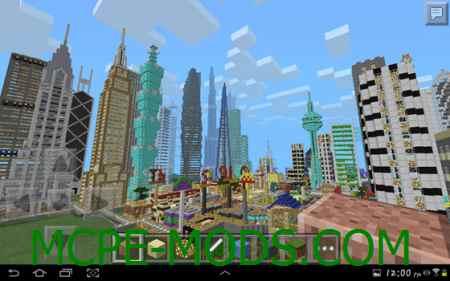 Gigantic City Map