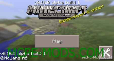 Minecraft - Pocket Edition 0.10.0 build 1