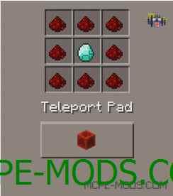 Teleporter Pads Mod 0.15.3/0.15.2/0.15.1/0.15.0/0.14.3/0.14.1/0.14.0/0.13.1