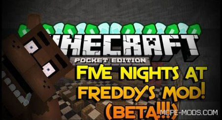 Five Nights At Freddy's Mod 0.15.3/0.15.2/0.15.1/0.15.0/0.14.3/0.14.1/0.14.0/0.13.1