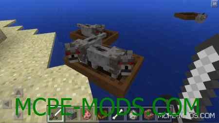 MCPE 0.11.0: новая функция у лодок в Minecraft PE!
