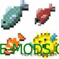 MCPE 0.11.0: Первый скриншот рыбы в Minecraft PE!