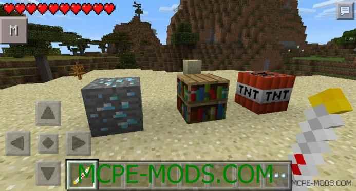 The Living Blocks Mod 0.10.5/0.10.4
