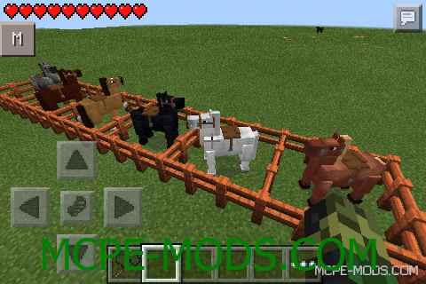 Horses Mod 0.10.5/0.10.4