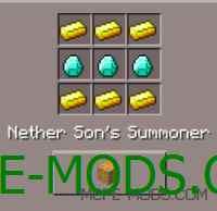 Nether's Son Mod 0.15.3/0.15.2/0.15.1/0.15.0/0.14.3/0.14.1/0.14.0/0.13.1