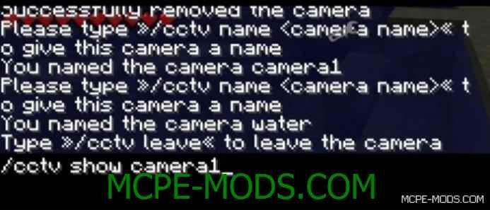 CCTV Security Camera Mod 0.15.3/0.15.2/0.15.1/0.15.0/0.14.3/0.14.1/0.14.0/0.13.1