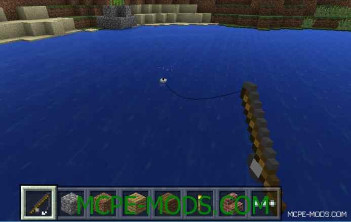 MCPE 0.11.0: Первый скриншот удочки в Minecraft PE!