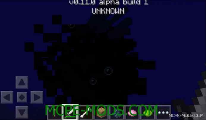 MCPE 0.11.0: Скриншот спрута в Minecraft PE!