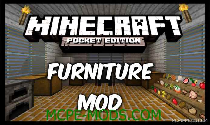 Furniture Mod 0.10.5/0.10.4