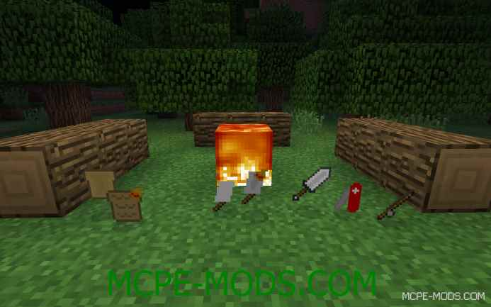 The Camping Mod 0.10.5/0.10.4