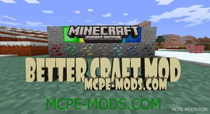 Better Craft Mod 0.10.5/0.10.4
