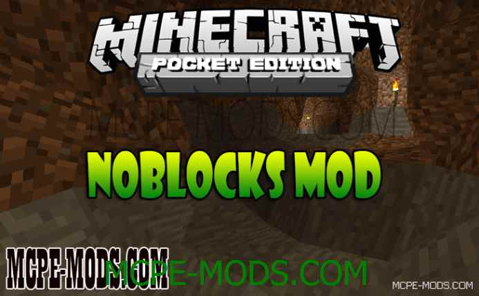 NoBlocks Mod (Sloped Nature / Smooth Terrain) 0.10.5/0.10.4