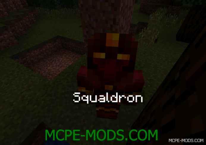 Squaldron – The Nether Demon Boss Mod 0.10.5