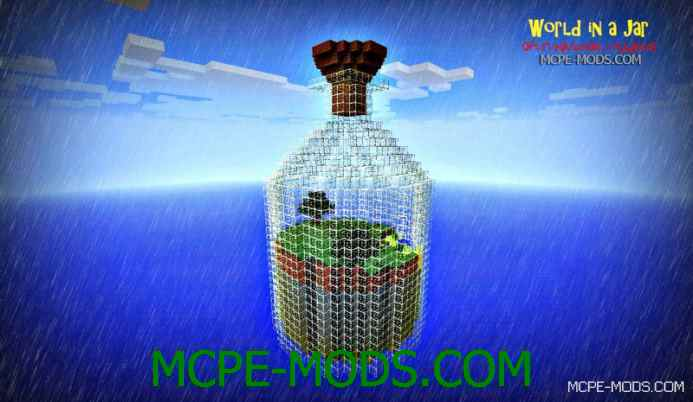 World in a Jar PE Map