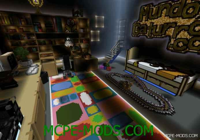 Gaturro's Room Map