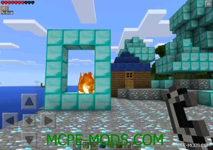 Diamond Portal Mod 0.11.1/0.11.0/0.10.5