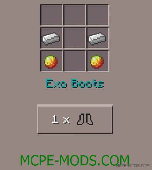 Exo Suits Mod 0.11.1