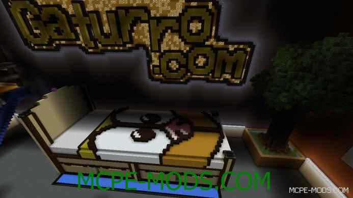 Как установить карту на Minecraft PE?