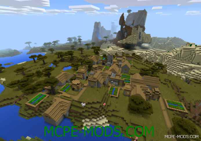 Double Village & Dungeon Seed 0.11.1/0.10.5
