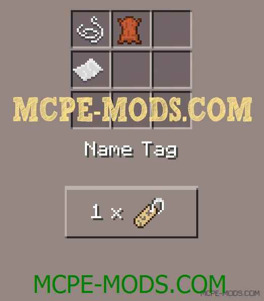 Name Tags Mod 0.11.1