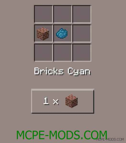 Colored Bricks Mod 0.11.1