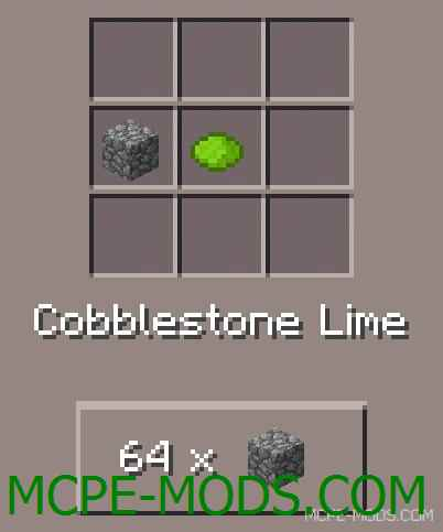 Colorful Cobblestone Mod 0.11.1