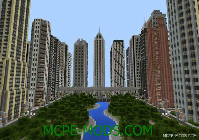 Universal City Map