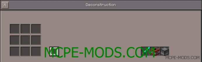 Deconstruction Mod 0.11.1