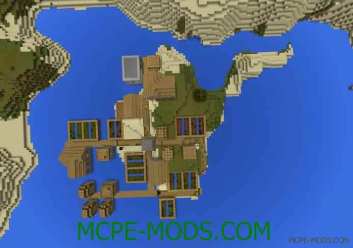 Island Village Close to the Mainland Seed 0.11.1
