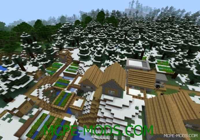 Snowy Village Seed 0.12.1
