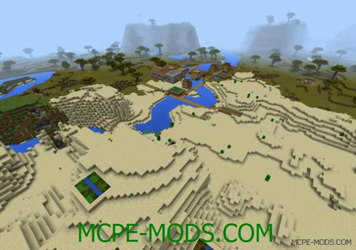 Five Villages Nearby Spawn Seed 0.12.1
