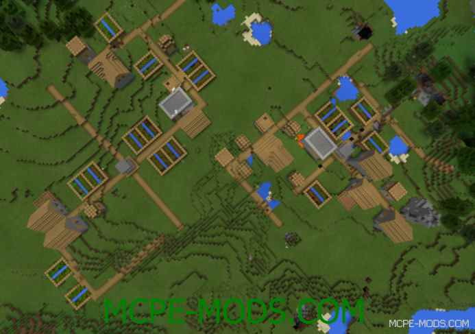 Double Village With Two Blacksmiths Seed 0.12.1