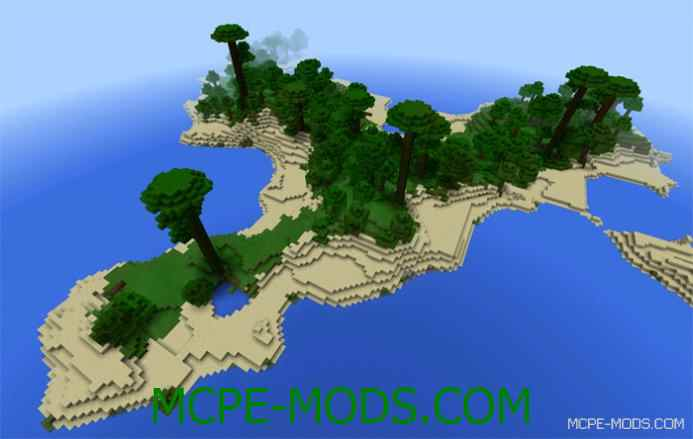 Tropical Jungle Islands Seed 0.12.1