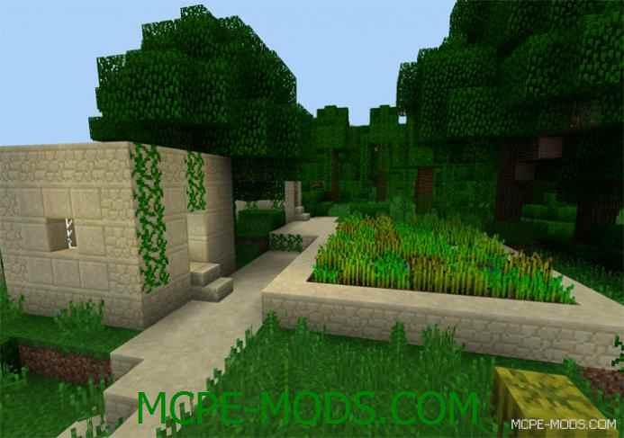 Half Jungle Village Seed 0.12.1