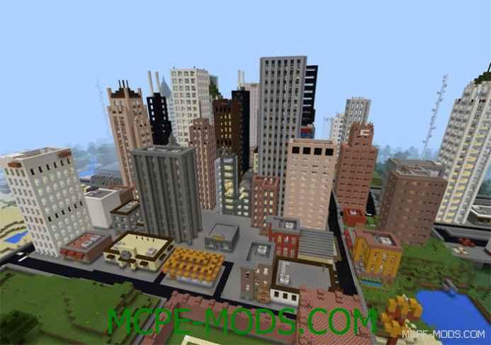 Dyltroit City Map