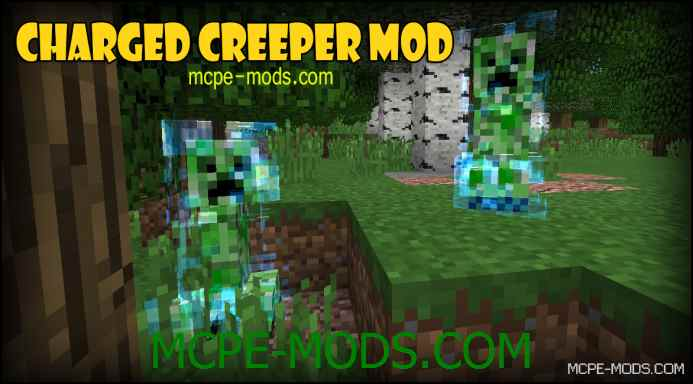 Charged Creeper Mod 0.12.1