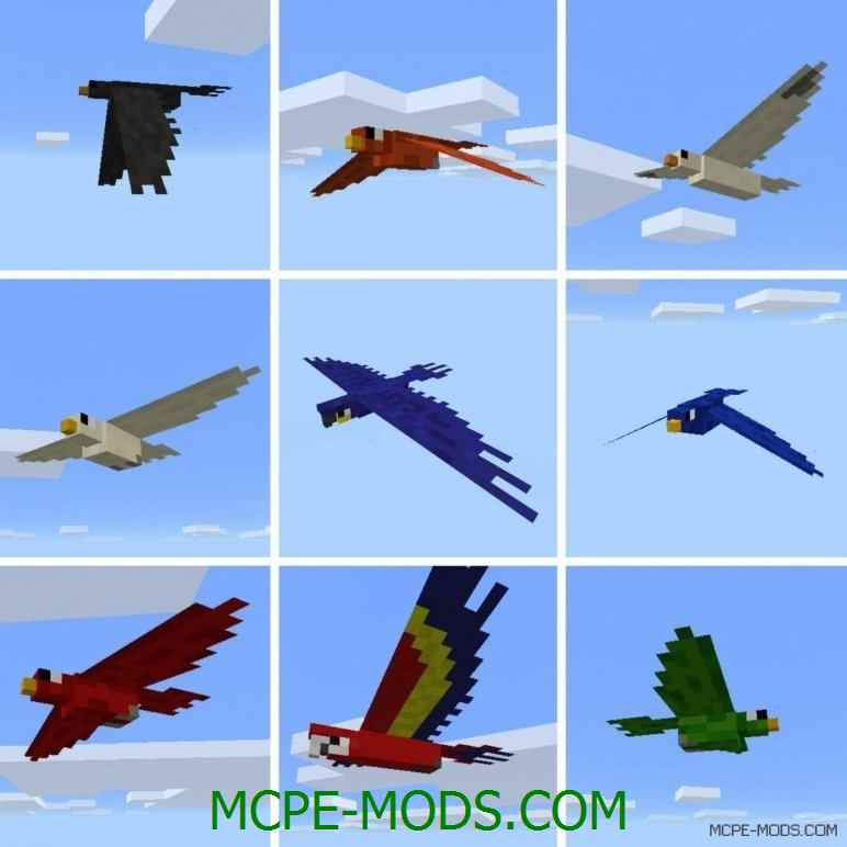 Мод Pocket Creatures для Майнкрафт ПЕ 0.13.0 (новые животные для Minecraft Pocket Edition 0.13.0)