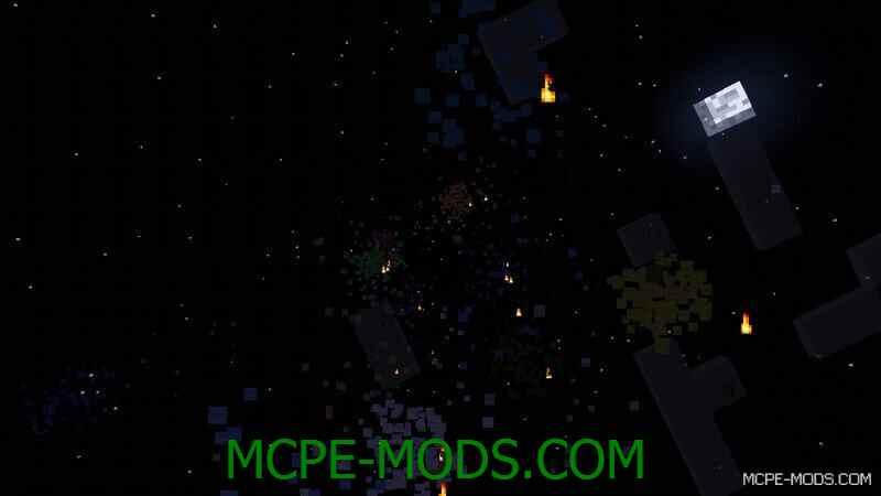 Мод Fireworks для Майнкрафт 0.13.0 (фейерверки для Майнкрафт на Андроид)