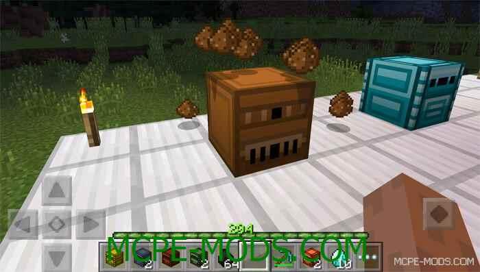 Мод Metallurgy Classic Machines для Майнкрафт 0.13.1/0.13.0 (мод на металлообработку для Minecraft Pocket Edition 0.13.1/0.13.0)