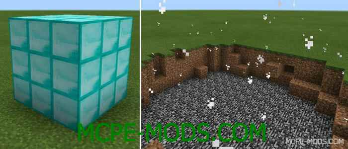 Мод The Amazing Lucky Block для Майнкрафт 0.13.1 (Лаки блок для Minecraft Pocket Edition 0.13.1)