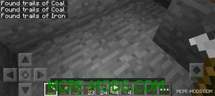 Мод Owen's Prospecting Picks для Майнкрафт 0.13.1 (геологические кирки для Minecraft Pocket Edition)