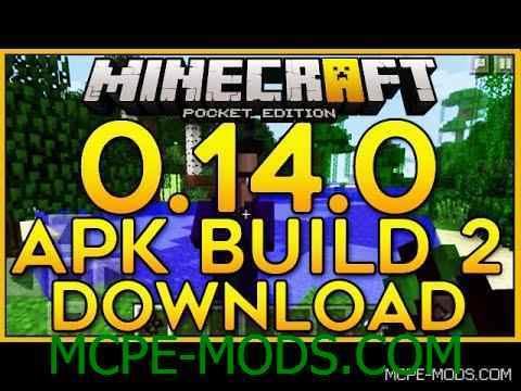 Скачать Minecraft PE 0.14.0 Build 2 на Андроид