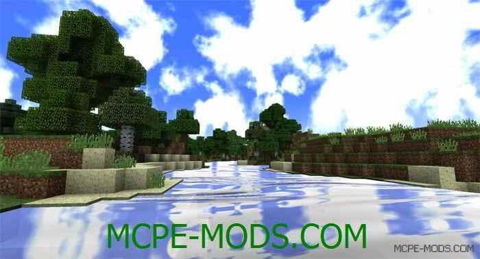 Шейдеры Cube Dygers для Minecraft PE 0.14.0