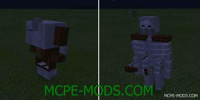 Мод Mutant Creatures для Minecraft PE 0.14.0