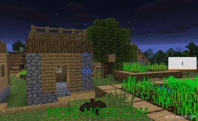 Мод Bat Simulator для Minecraft PE 0.14.0