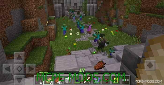 Карта Jungle Realms для Minecraft PE 0.14.0