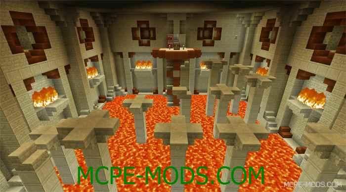 Карта Tomb Crafter 2: Egypt для Minecraft PE 0.14.0